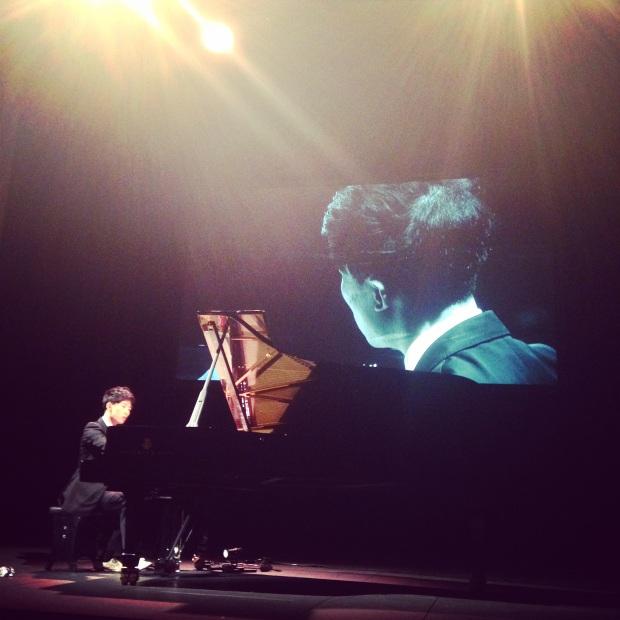 Ji Liu performing Bach's Goldberg Variations
