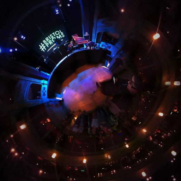 Bristol Old Vic Theatre in 360 degrees