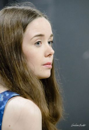 Tilly Steele in rehearsal for The Heresy of Love. Photos by Graham Burke