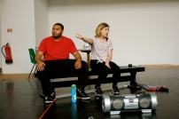 Spill - Rehearsal Photography - Photos by Propolis Theatre