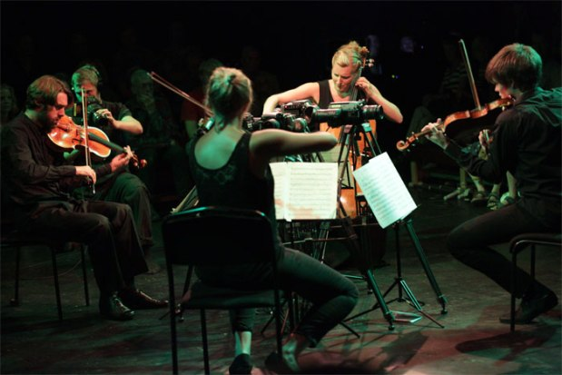 Sacconi Quartet - Photo by Mark Douet