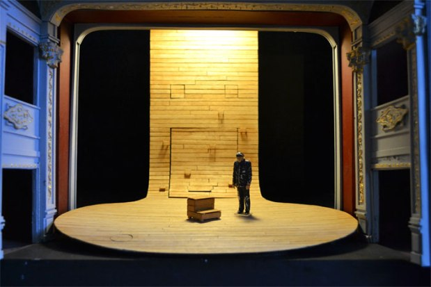 Sleeping Beauty Model Box - Design by Michael Vale, photo by Duncan Smith