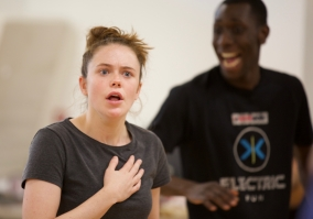 Julius Caesar - Rehearsal - Photo by Simon Purse (124)